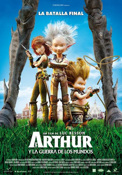 Arthur 3: La Guerra de dos Mundos {1link} [BRScreener][Español][Animacion][2010]