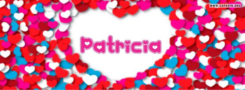 Capas para Facebook Patricia
