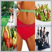 Comidas saudáveis e exercícios fazem emagrecer com saúde.