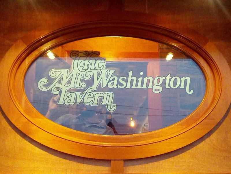 Glass Gilding - The Mt Washington Tavern