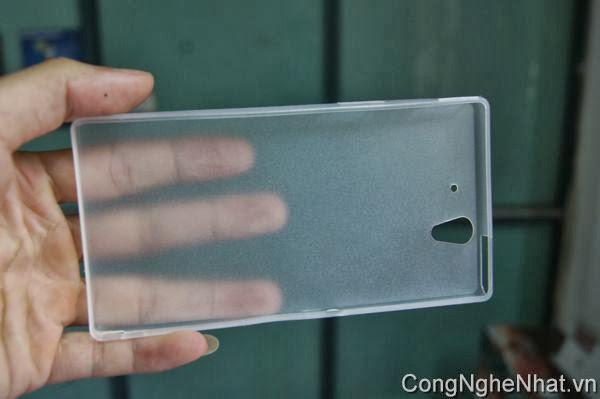 Ốp lưng Sony Xperia Z (SO-02E) loại mỏng sần
