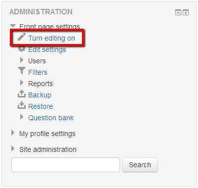 publish online forms on Moodle