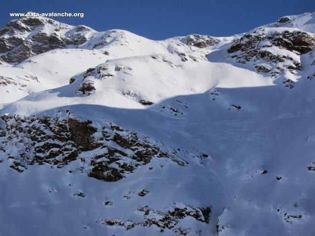 Avalanche Haute Tarentaise, secteur Pointe de la Foglietta, Sainte-Foy-Tarentaise - Photo 1 - © P-E Vincent