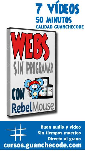 Curso para hacer webs sin programar