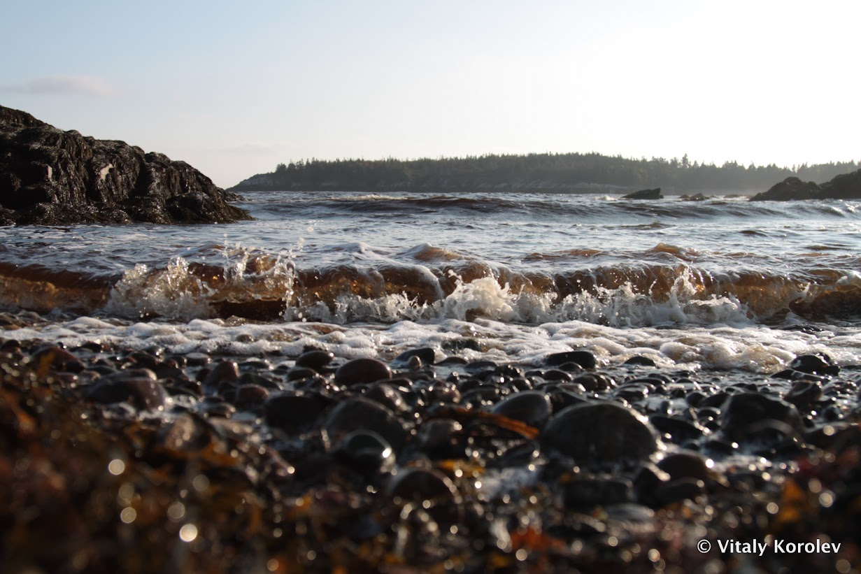 Bay of Fundy, Unnamed Beach
