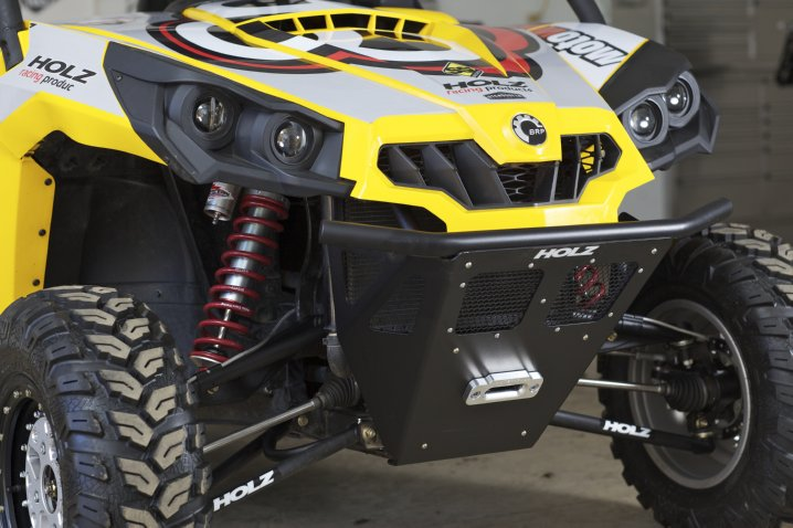 New Can Am Commander Pre Runner Front Bumper From Holz