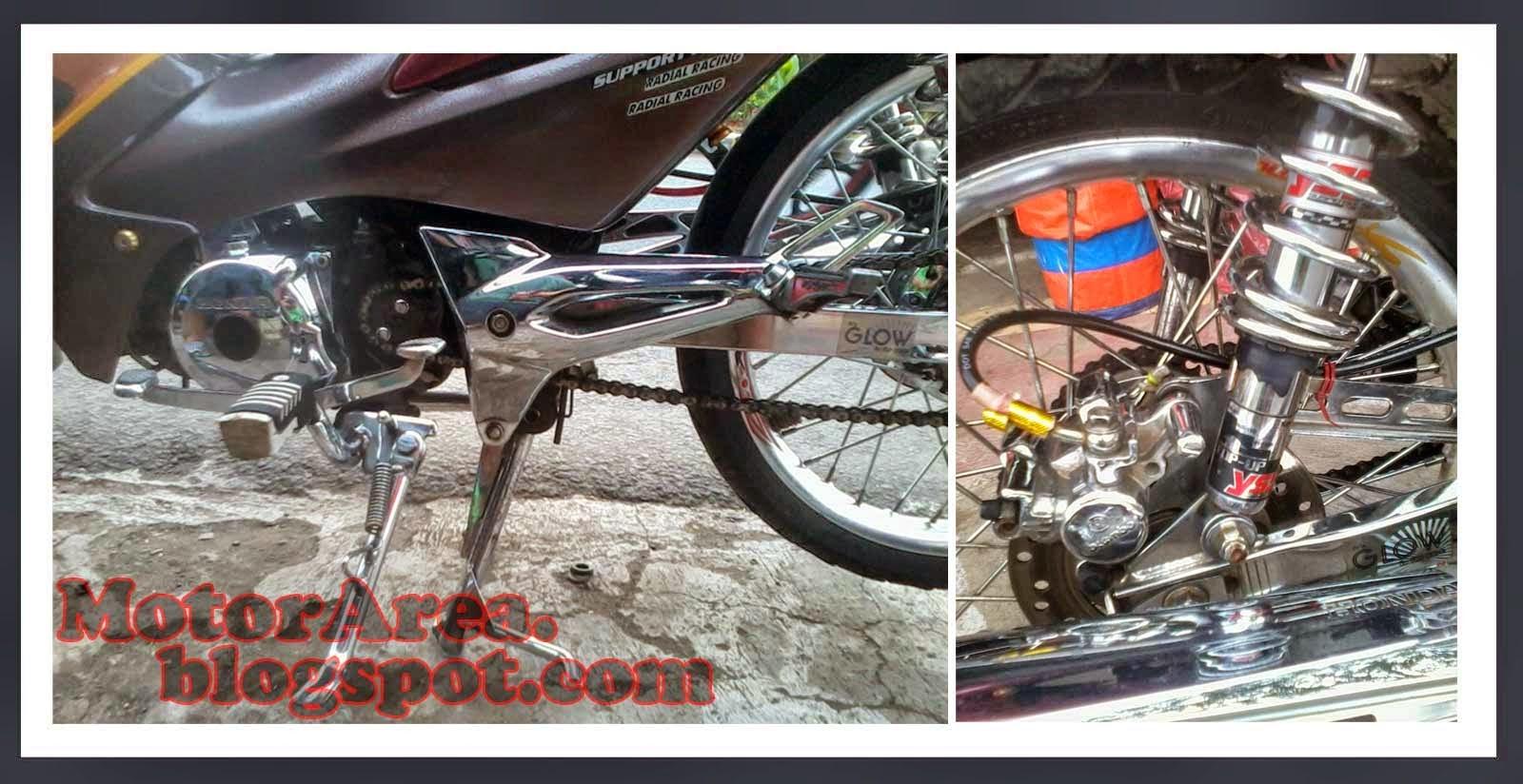 Gambar Modifikasi Motor Honda Supra Fit X