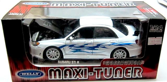 Đồ chơi Mô hình tĩnh, xe ô tô Subaru Impreza tỷ lệ 1/24