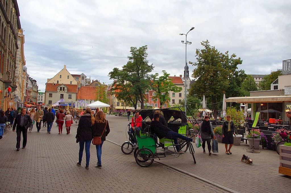 Qué ver en Riga. Plaza Livu, Riga