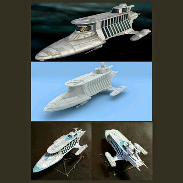 Sorosuub yacht de Mel Miniatures