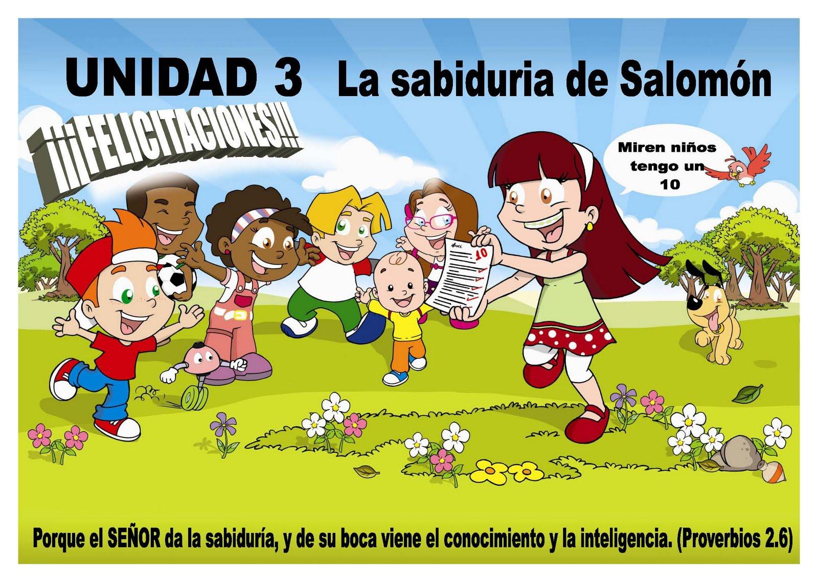 Manualidad El Rey Salomon: Escuelita Biblica Infantil