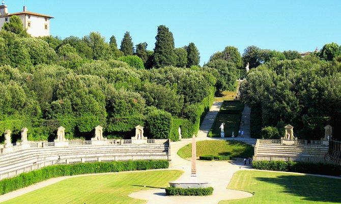 A Boboli-kert Firenzében