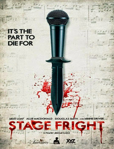 Filme Poster Stage Fright HDRip XviD & RMVB Legendado