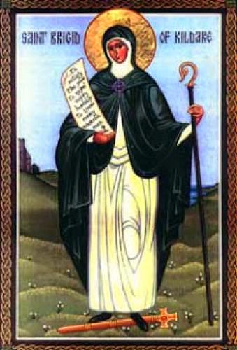 St Brigit Of Kildare By Suzanne Barrett
