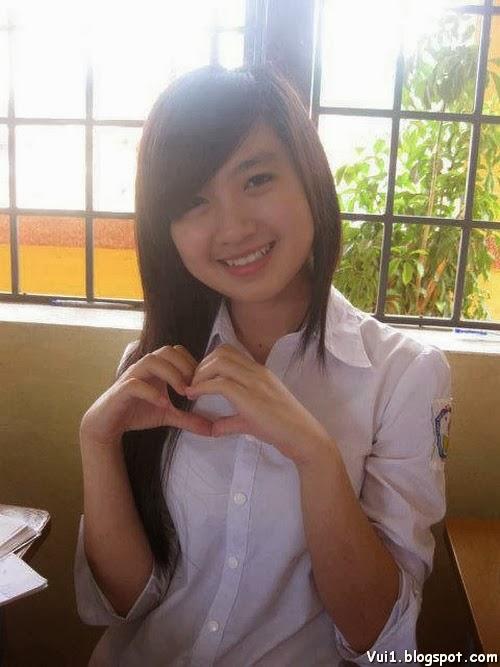 Ảnh Girl Xinh 9x Cực Cute, Có Nét Đẹp Baby - hình 8