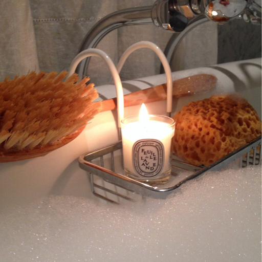 Feuille de Lavande diptique mini candle