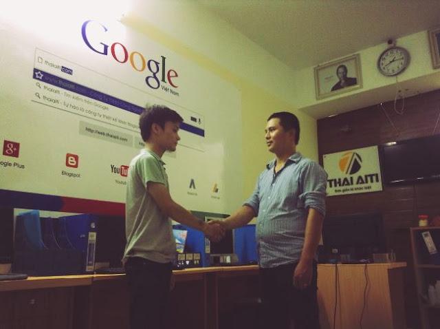 ThaiAiTi ký hợp đồng thiết kế website Công ty nội thất Quang Anh
