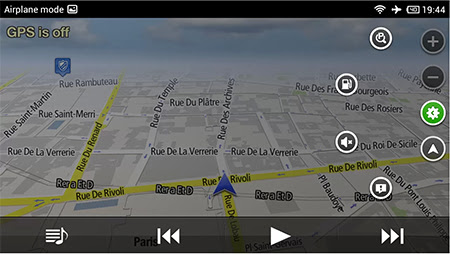 NavFree GPS Android GPS pentru Android