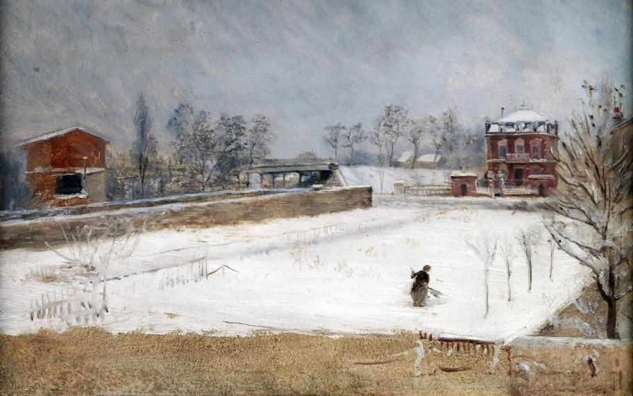 Giuseppe de Nittis - Winter Landscape