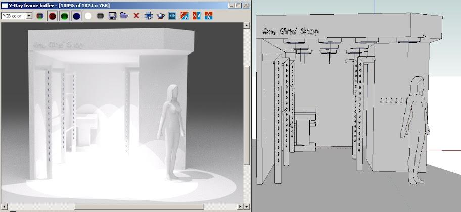 Vray light - spot light (omni ?, IES ?) • sketchUcation • 1