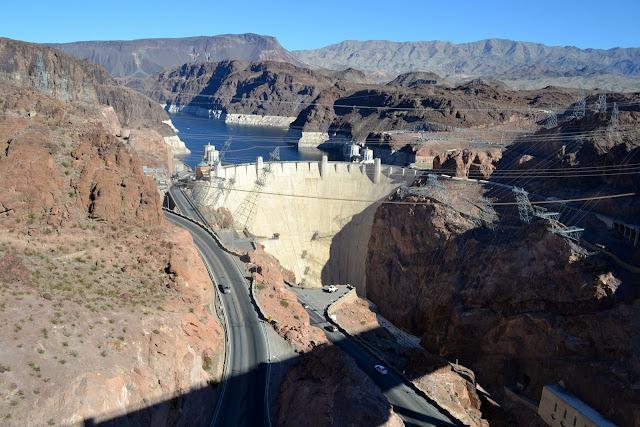 Плотина Гувера, Аризона - Невада, США