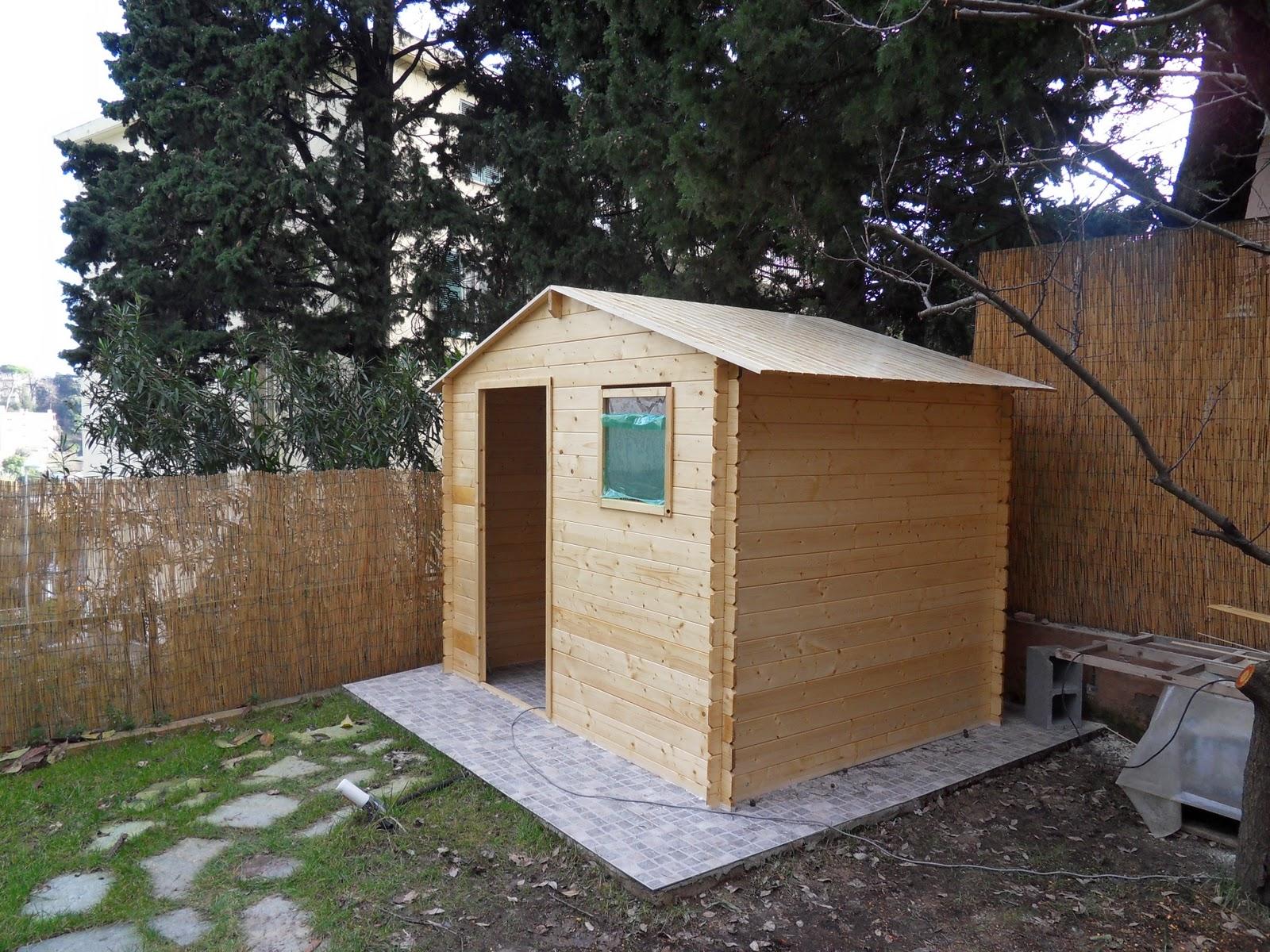Il tuo architetto a genova casette di legno arredano il for Giardino leroy merlin