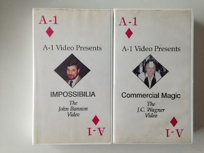 A-1 Video の IMPOSSIBILIA/John Bannon と Commercial Magic/J.C Wagner