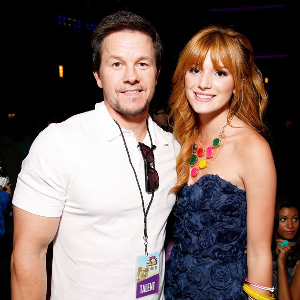 Mark Wahlberg and Bella Thorne pose for a photo during the Radio Disney Music Awards at the Nokia Theatre, L.A.
