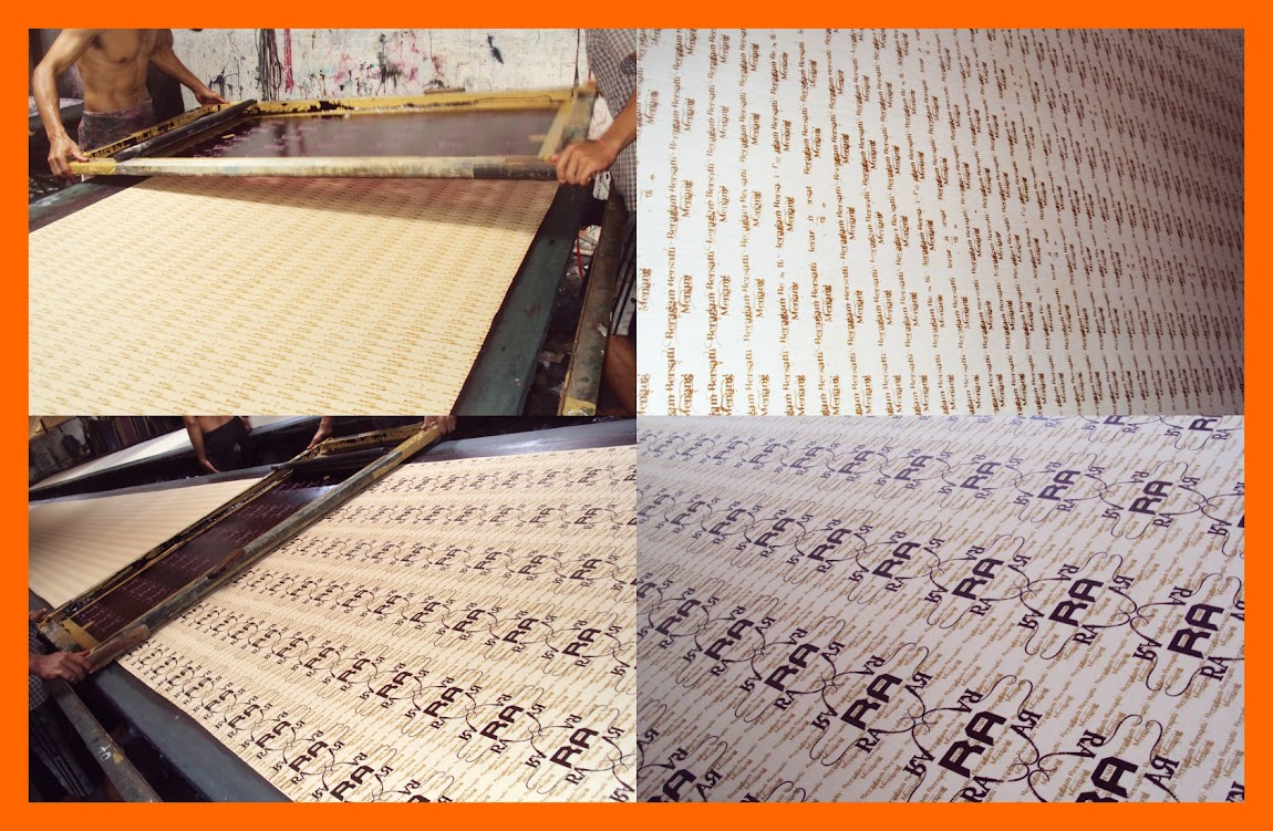 Pinting Seragam Batik RA