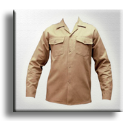 Camisa en Drill para hombre.