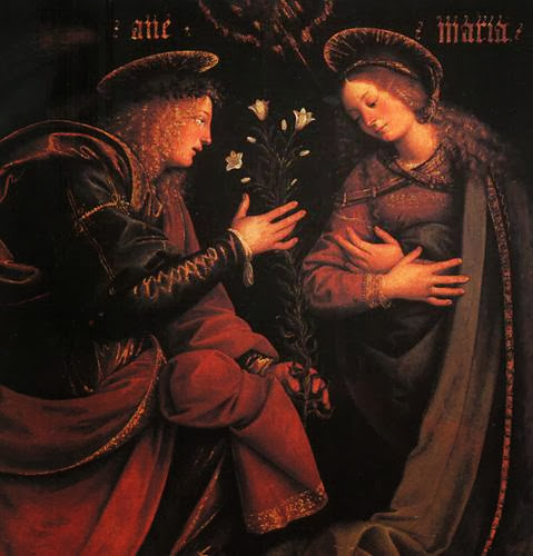 Gaudenzio Ferrari - The Annunciation