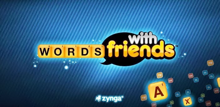 Android puzzle game apps Words With Friends