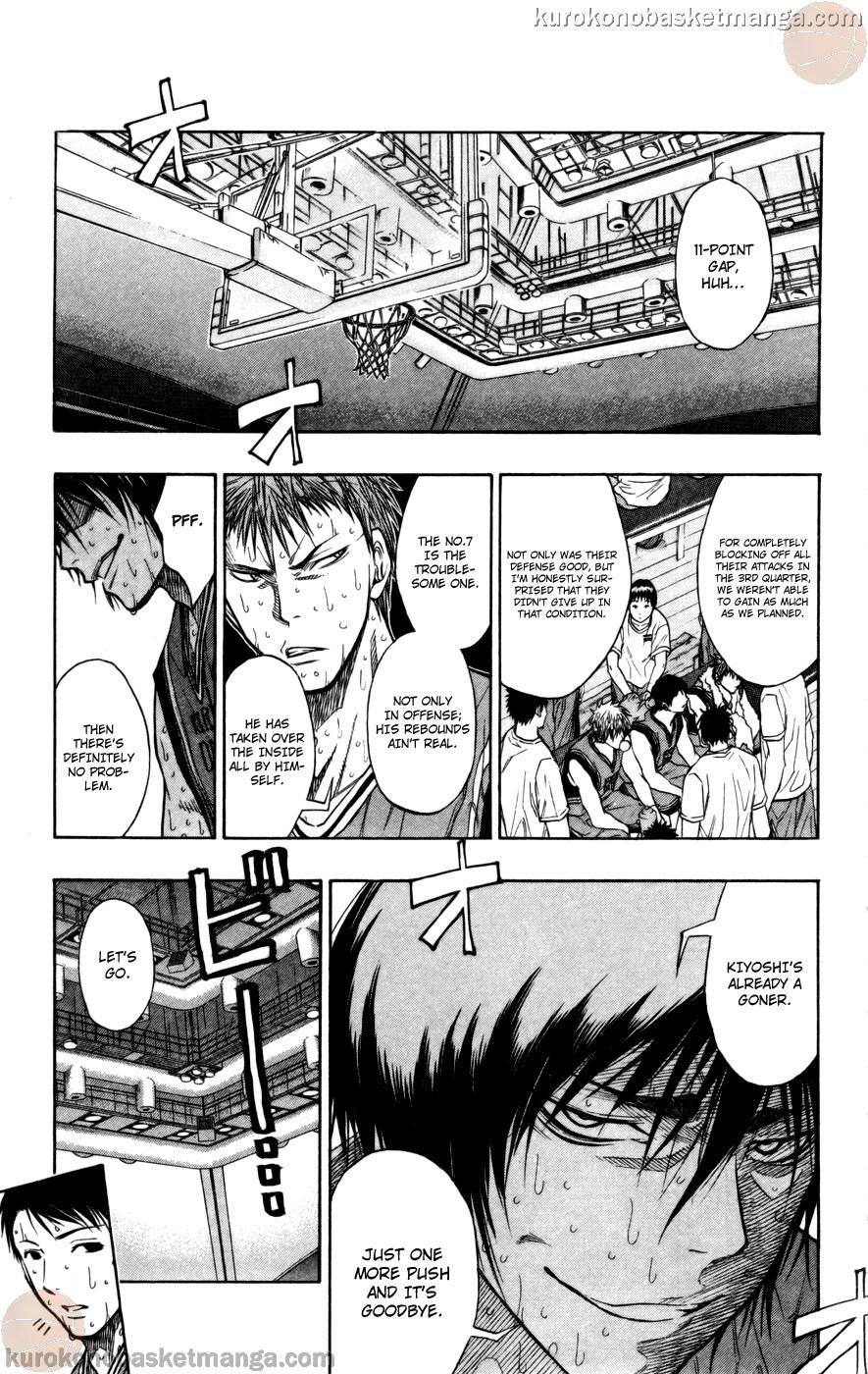 Kuroko no Basket Manga Chapter 105 - Image 04