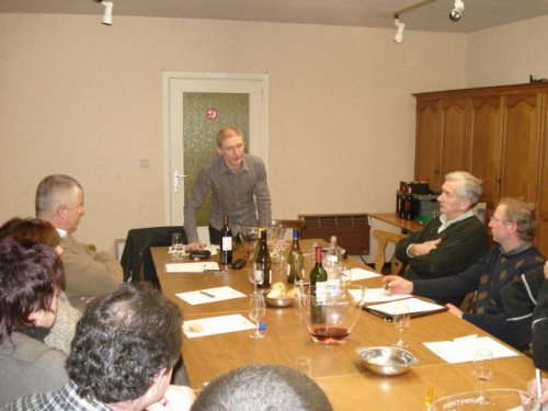 Op 12 dec 2008 vond de 2e wijndegustatie avond plaats.