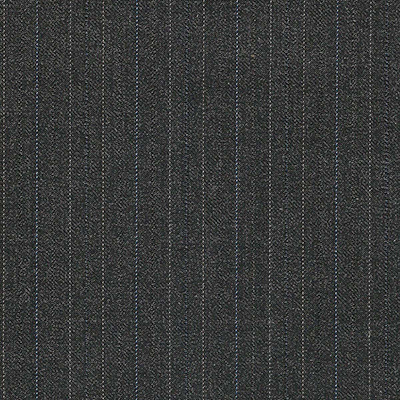 dark gray with stripes suit made to measure