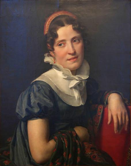 François-Joseph Navez - Portrait de Madame Faber