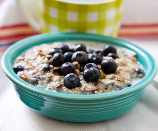 Focus T25 Breakfast Recipe Blueberry Oatmeal