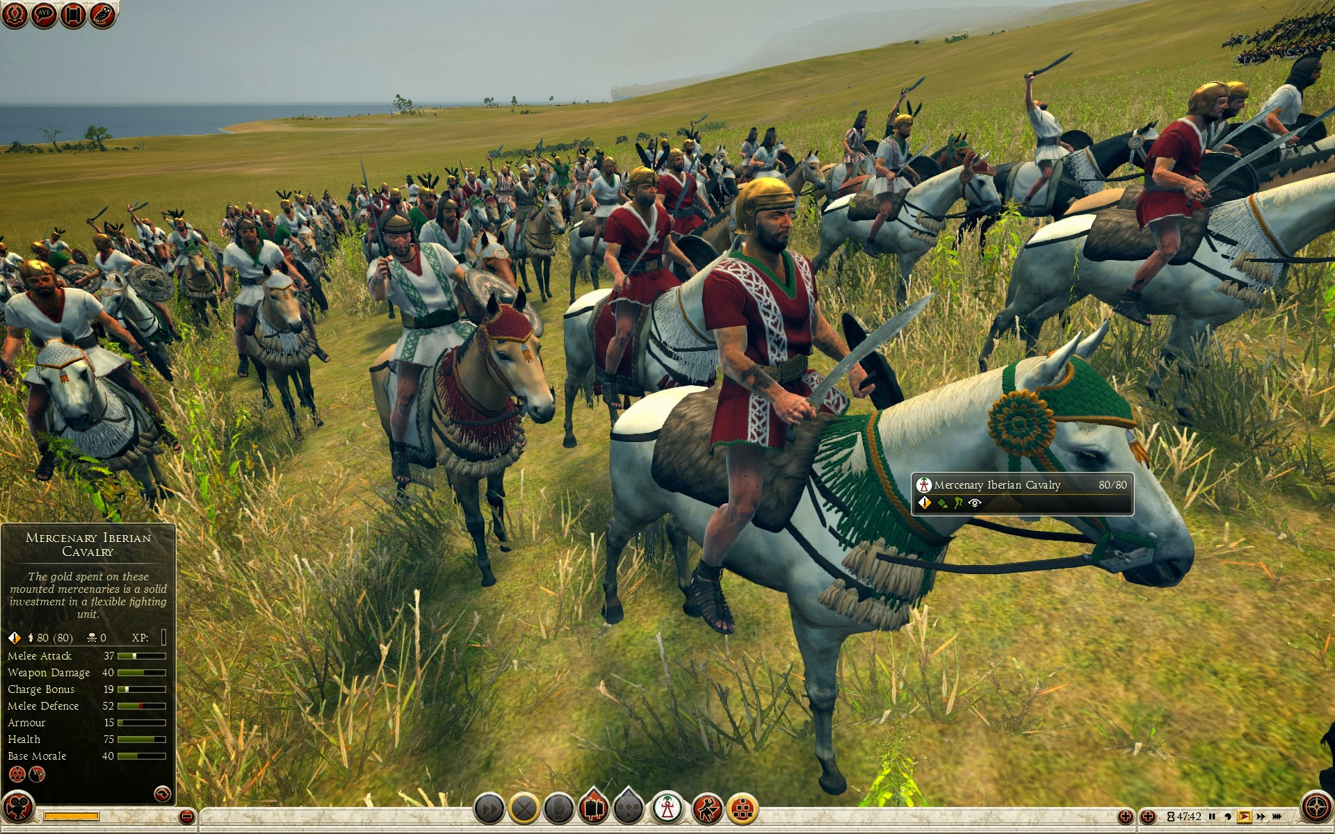 Mercenary Iberian Cavalry