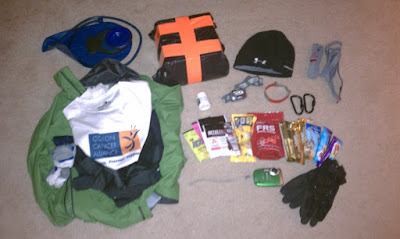 Everything I brought