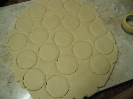 Roll out and cut with your favour cookie cutter