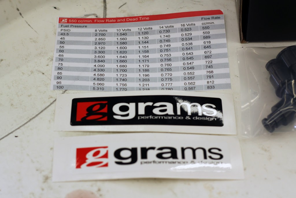 Grams Performance Injectors - Honda-Tech - Honda Forum