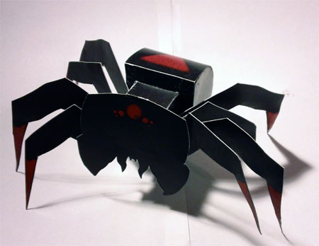 Arach-Nope Paper Toy