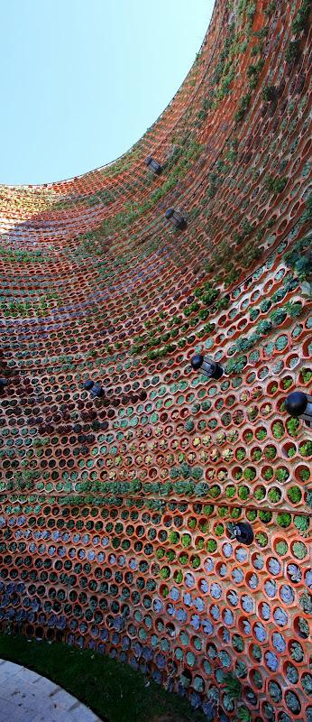 Jardín vertical en Ibiza