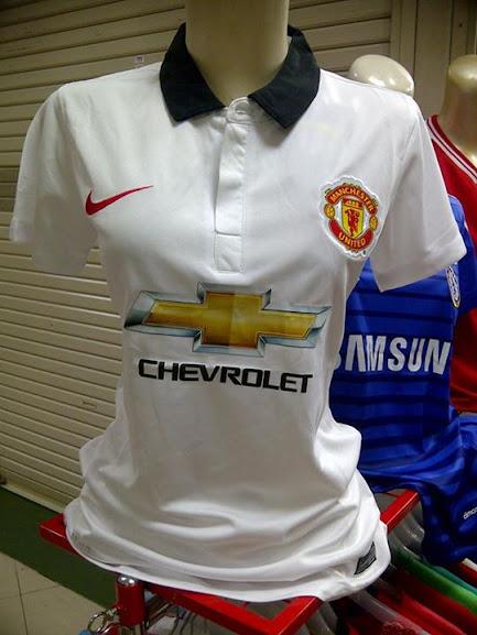 Jersey Cewek Manchester United Away 2014-2015