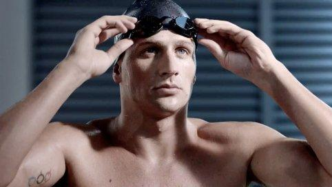 Ryan Lochte Warms Up in AT&T Commercial