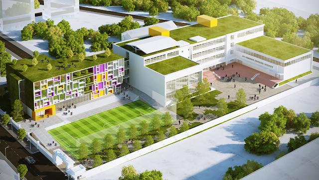 Trường học quốc tế khu đô thị Vịnh Thuận Phước