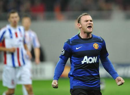 Wayne Rooney, Otelul Galati - Manchester United