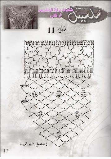 صدور كروشي من مجلة سلسبيل Salsabil12