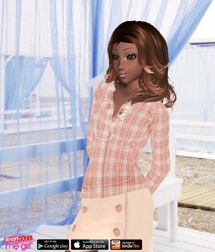 Teen Vogue Me Girl Level 38 - Dinner in the Hamptons - Lily - Snapshot