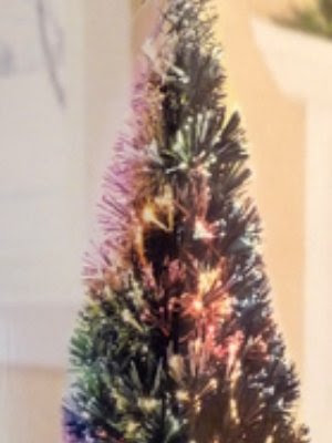 32 Inch Fiber Optic Christmas Tree with Stand